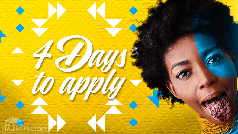 Tick, tock…Four days to go until the 2019 Call to Entry for the MTF Academy closes! (Multichoice)