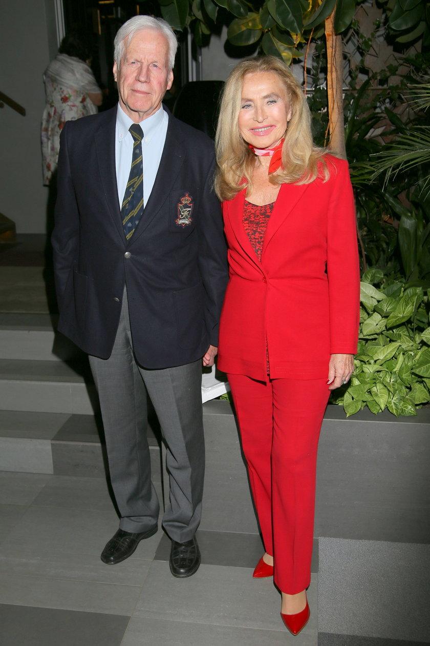 Bogumiła Wander z mężem Krzysztofem Baranowskim