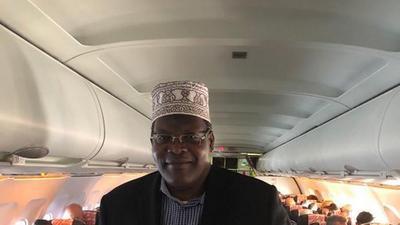 UPDATE: Miguna Miguna finally boards plane to Kenya