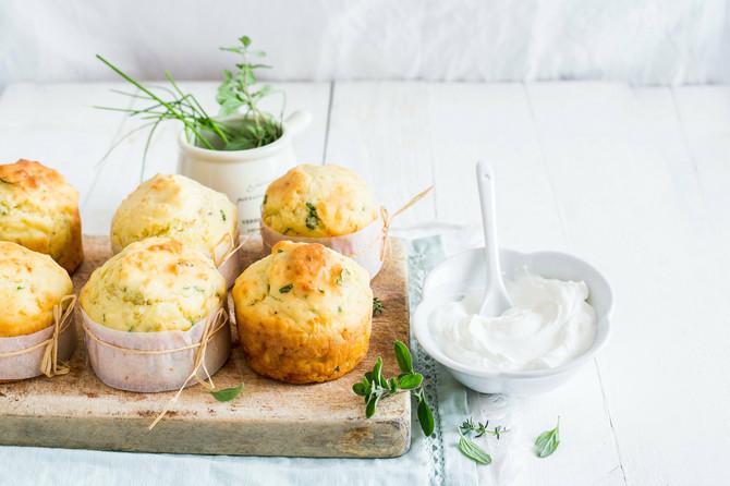 Mafini sa sirom su uvek pravi izbor za doručak, naročito ovi bez brašna
