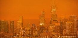 Niebo zabarwiło się na pomarańczowo. Apokalipsa nadeszła w biały dzień
