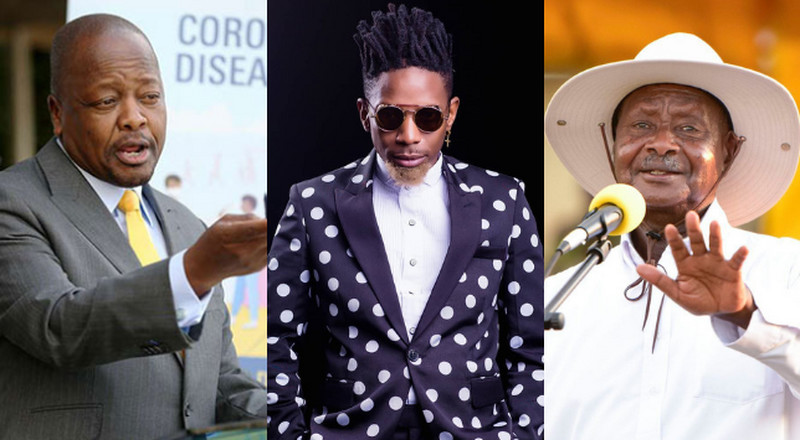 Eric Omondi leaves fans in stitches as he perfectly mimics Mutahi Kagwe and Museveni's COVID-19 pressers