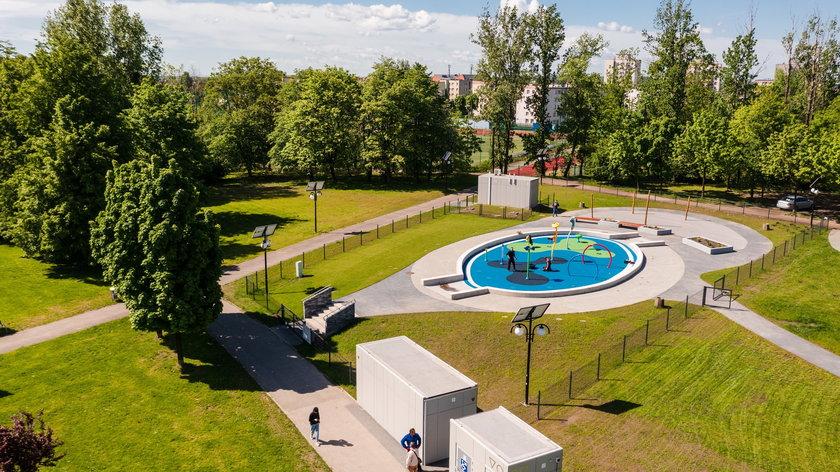 Wodny plac zabaw w Chorzowie już otwarty
