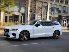 Volvo V60 T8 AWD – duży zapas mocy z hybrydy – TEST