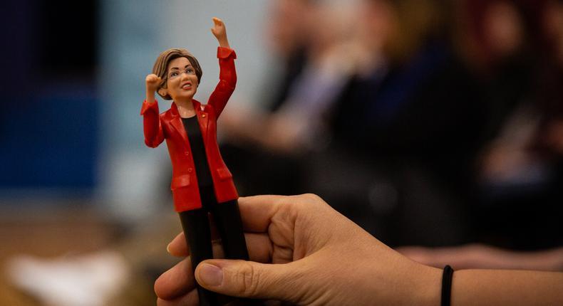 Elizabeth Warren Is Ready for a Fight