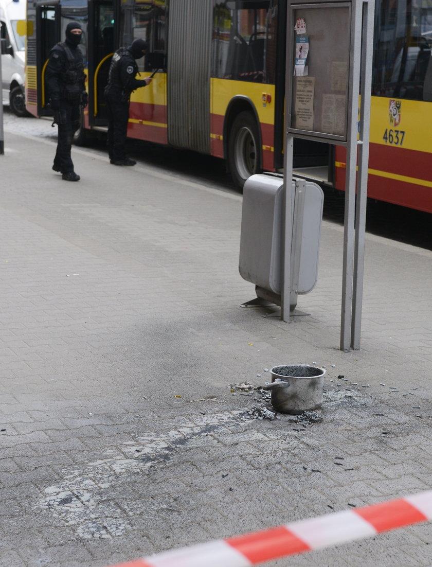 Bomba w autobusie linii 145 we Wrocławiu