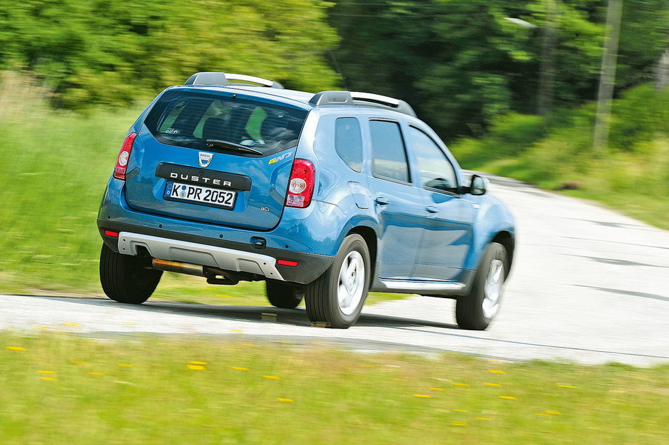 Dacia Duster - test 100 tys. km