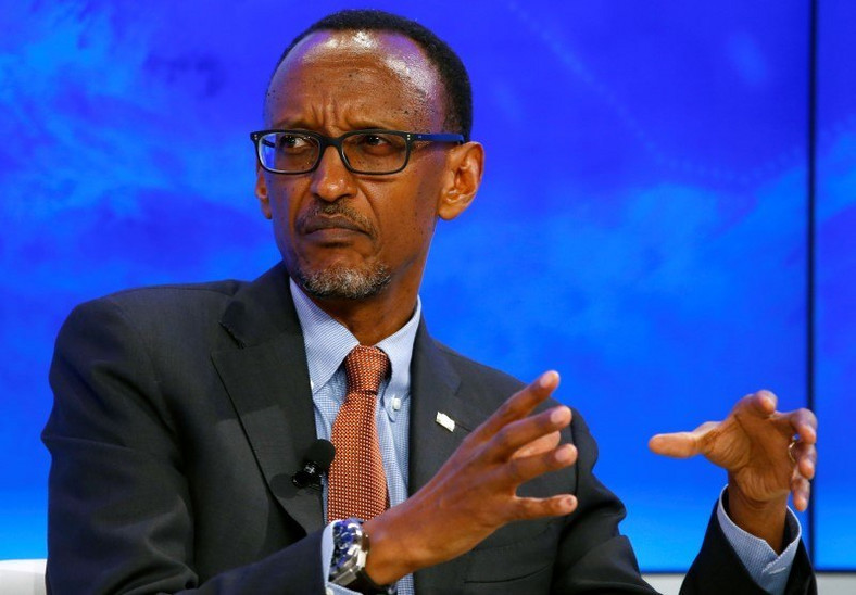 "Paul Kagame, President of Rwanda attends the session ""The Transformation of Tomorrow"" during the annual meeting of the World Economic Forum (WEF) in Davos, Switzerland January 20, 2016.  REUTERS/Ruben Sprich"