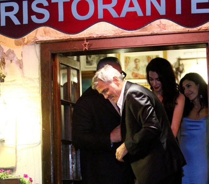 Amal i Džordž sinoć napravili pometnju u Veneciji