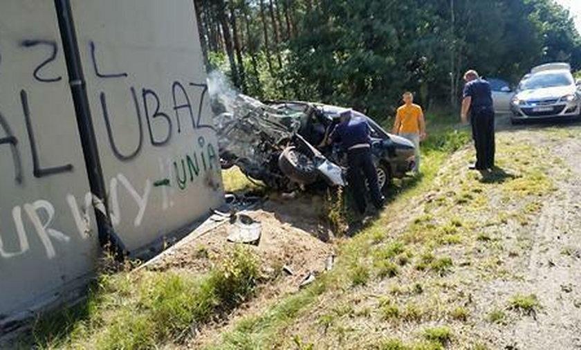 Tragiczny wypadek na trasie Szprotawa-Bolesławiec. – Kierowca zmarł na moich oczach