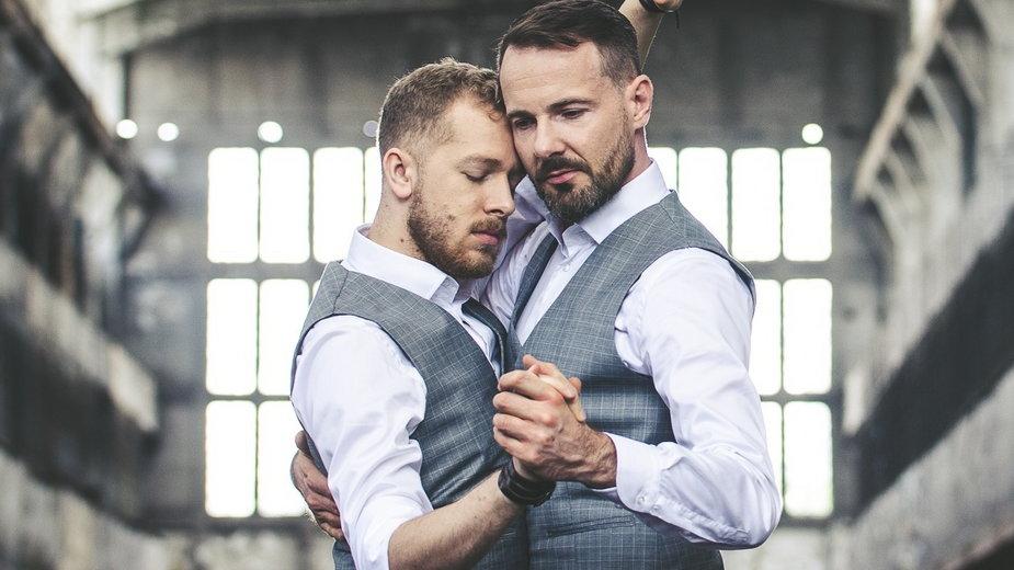 Dawid Belach i Tomasz Sępowicz