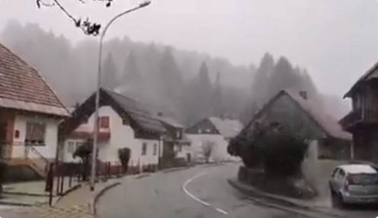 Sneg Gorski Kotar