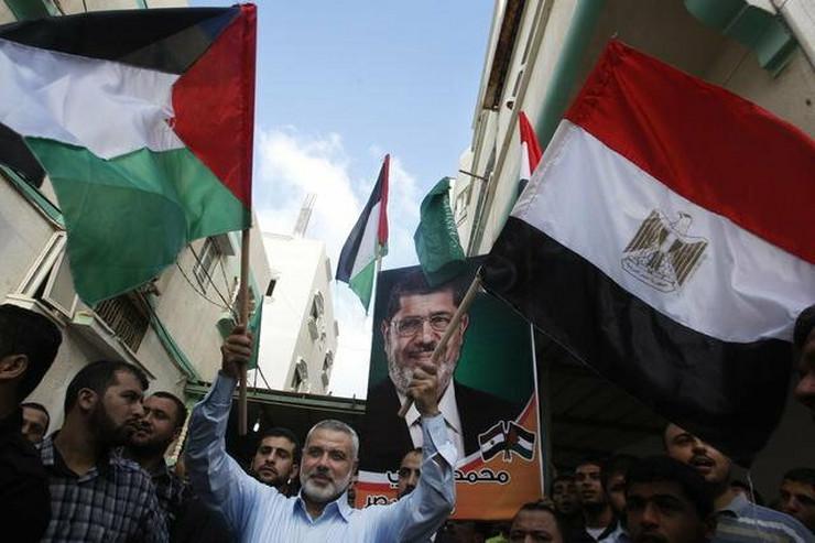 Ismail Hanije, Hamasov premijer u Gazi i podržavalac Mohameda Morsija