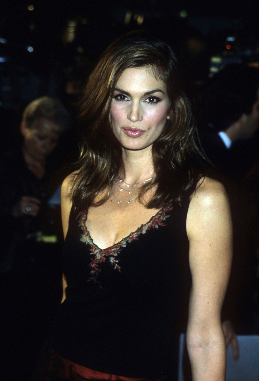 Cindy Crawford w latach 90. / Getty Images / Steve Eichner