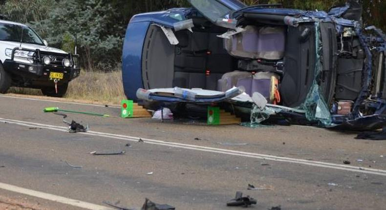File image of an accident scene
