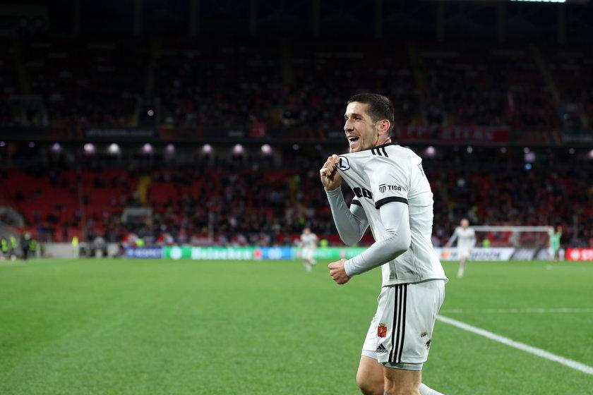 Legia strzeliła gola w ostatnich sekundach.