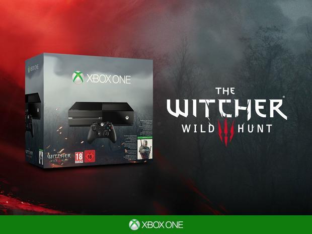 Xbox One w zestawie z Wiedźminem 3