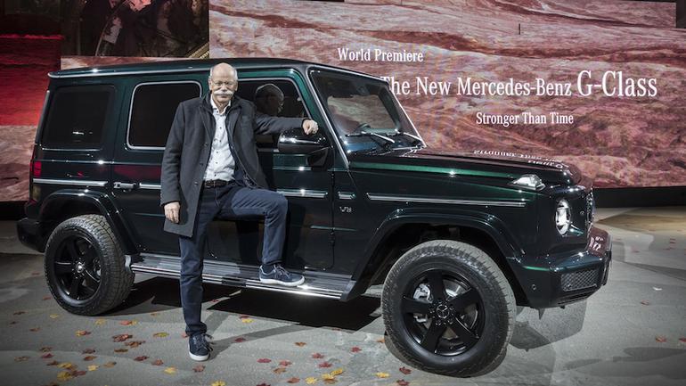 Mercedes klasy G – Detroit 2018