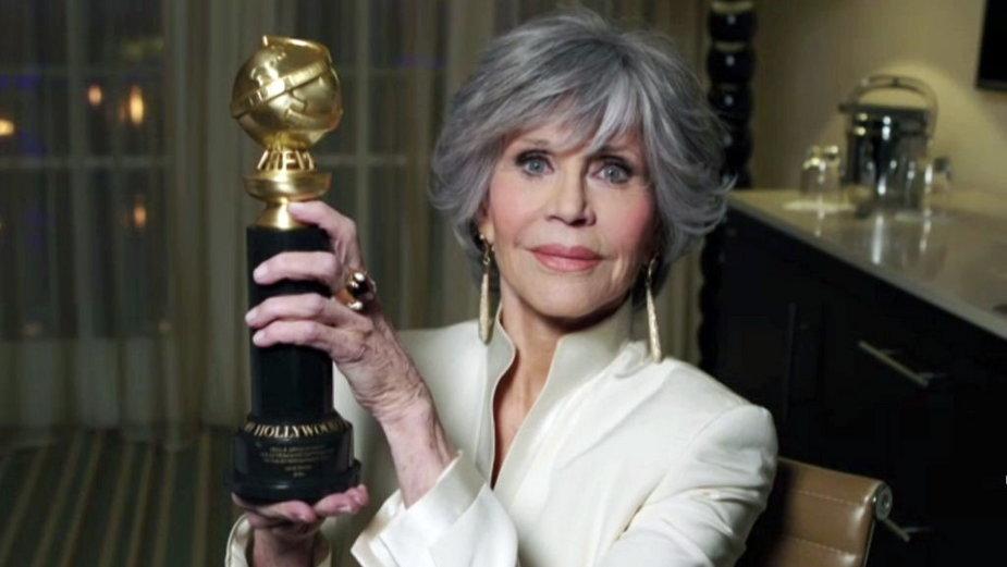 Jane Fonda na gali Złotych Globów 2021
