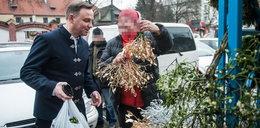 Prezydent na świątecznych na zakupach. Mamy zdjęcia!