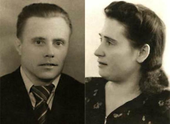 Putinovi roditelji, Vladimir Spiridonovič i Marija Ivanovna