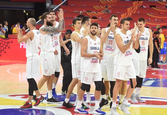 Košarkaška reprezentacija Srbije, Filipina