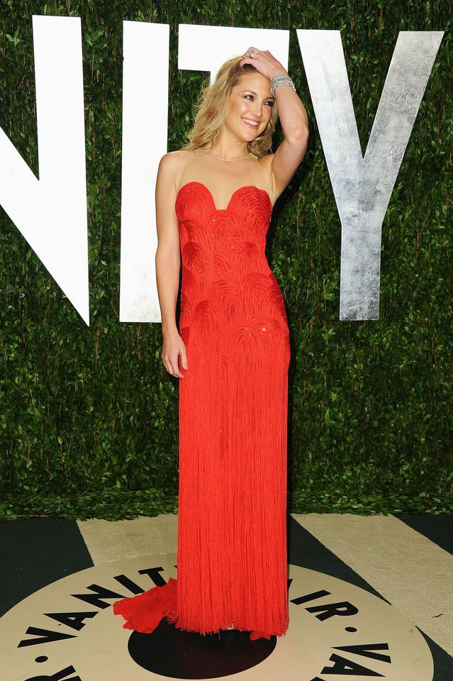 Kate Hudson na afterparty Vanity Fair w 2012