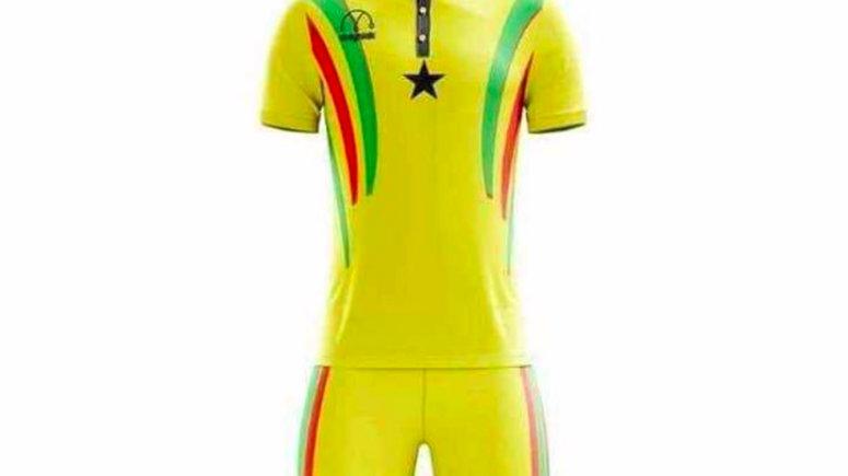 New Black Stars jersey