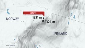 Norwegia chce podarować Finlandii górski szczyt