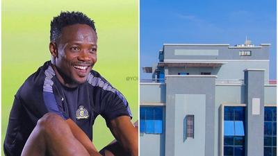 Super Eagles captain Ahmed Musa opens his multi-million Naira centre in Kaduna