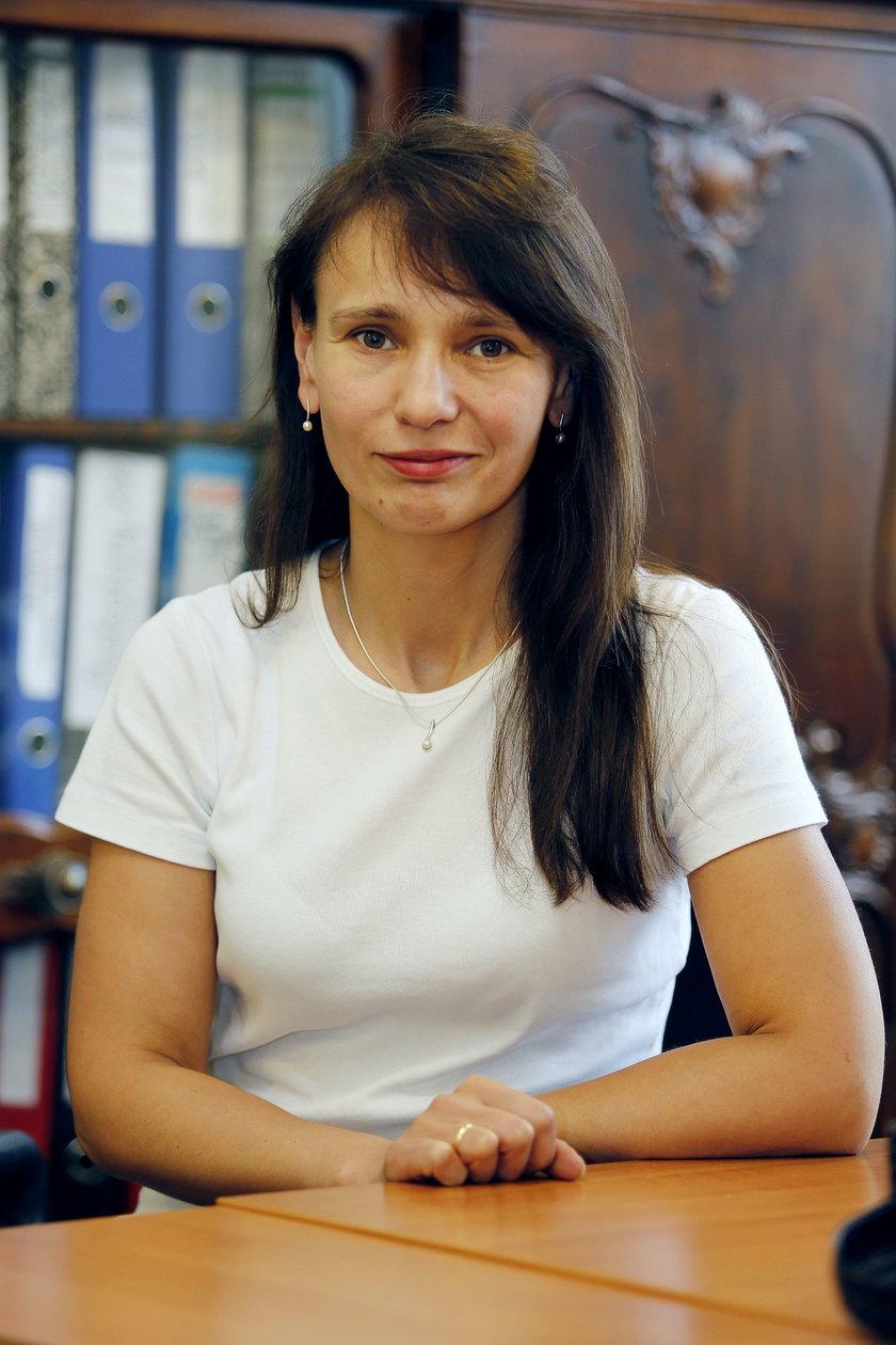 Anna Wyleżoł, nacz. wydz. zarządzania nieruchomościami UM w Zabrzu