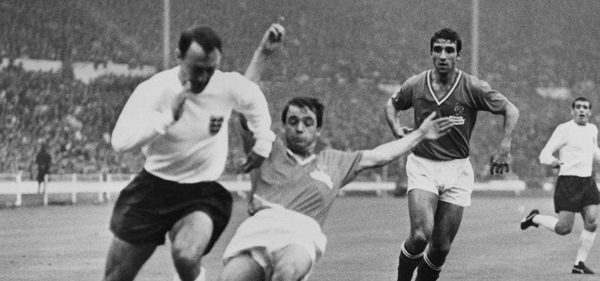 Nie żyje legendarny piłkarz. Był mistrzem świata z 1966 roku