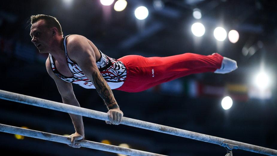Gimnastyka. Łukasz Borkowski