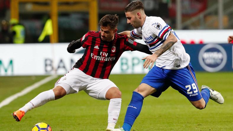 580f5a2ab Włochy: AC Milan wygrał z Sampdorią Genua i zrównał się z nią ...