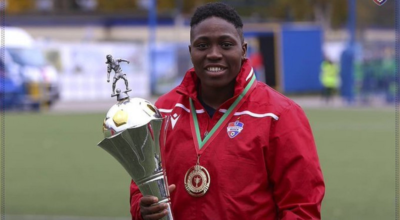 Emuidzhi Oghiabekhva makes history as the first African to win the golden boot in UEFA Women's Champions League