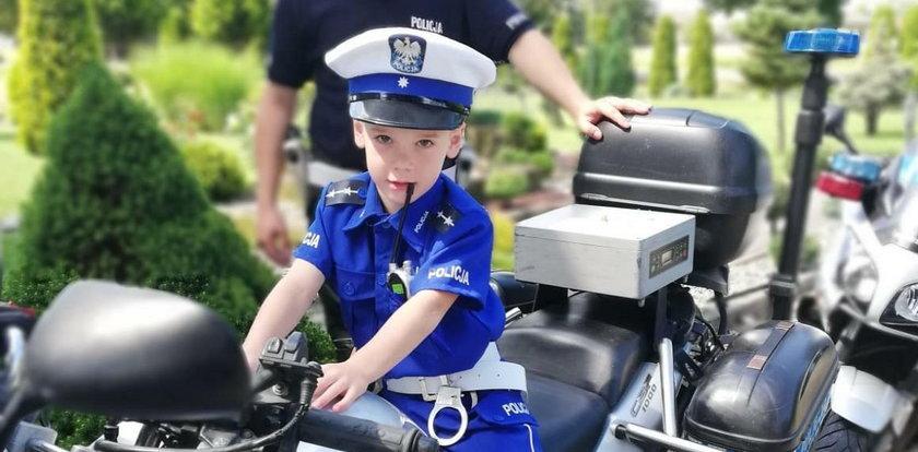 Jak Wojtuś został policjantem