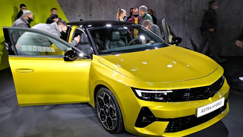 Opel Astra nowej generacji - premiera w Polsce