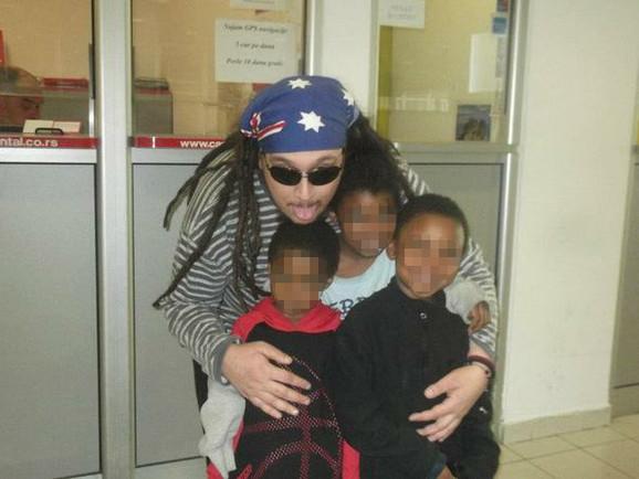 Bojan Kanja sa decom