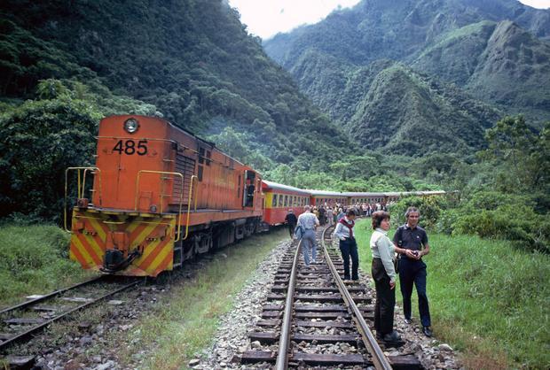 Pociąg z Machu Picchu do Cuzco