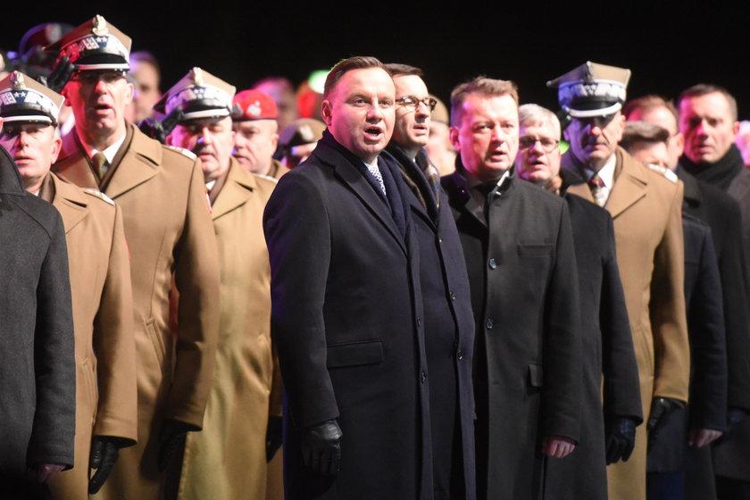 """""""Komuniści się was bali"""". Prezydent oddał hołd Wyklętym"""