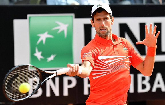 Novak Đoković u rimskom finalu