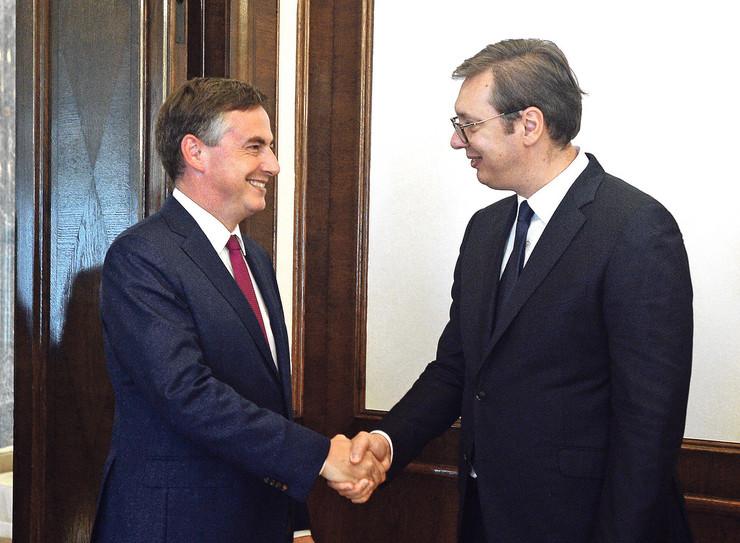 Makalister ponovo dolazi na razgovore sa srpskim političarima
