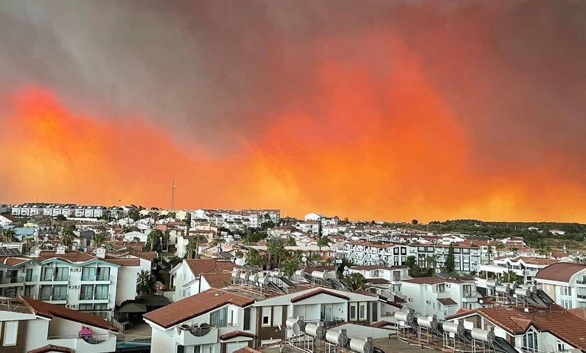 Polka mieszkająca w Turcji o pożarach: tylko Palec Boży może pomóc