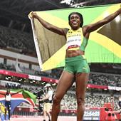 """Jamajčani su NAJBRŽI LJUDI NA SVETU! Tompson-Hera """"proletela"""" kroz stazu i osvojila drugo zlato u Tokiju"""