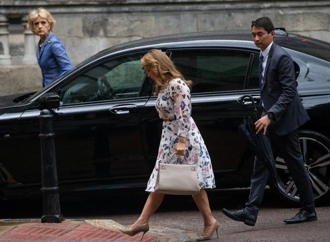 Princeza Haja bint Husein stiže na sud u Londonu