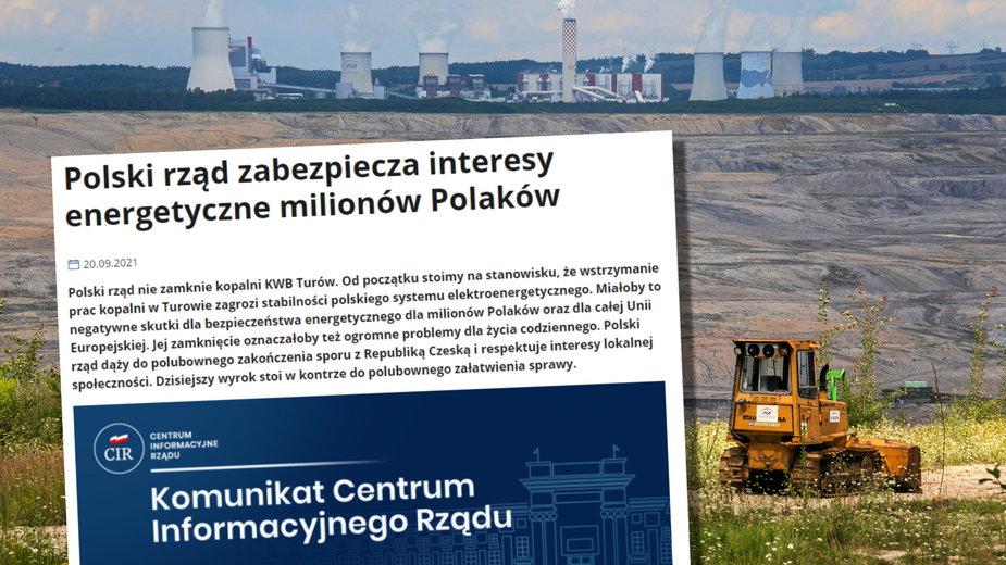 Kara za Turów. Polski rząd odpowiada