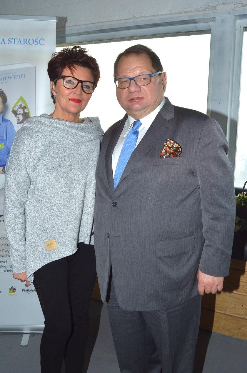 Jolanta Kwaśniewska i Ryszard Kalisz