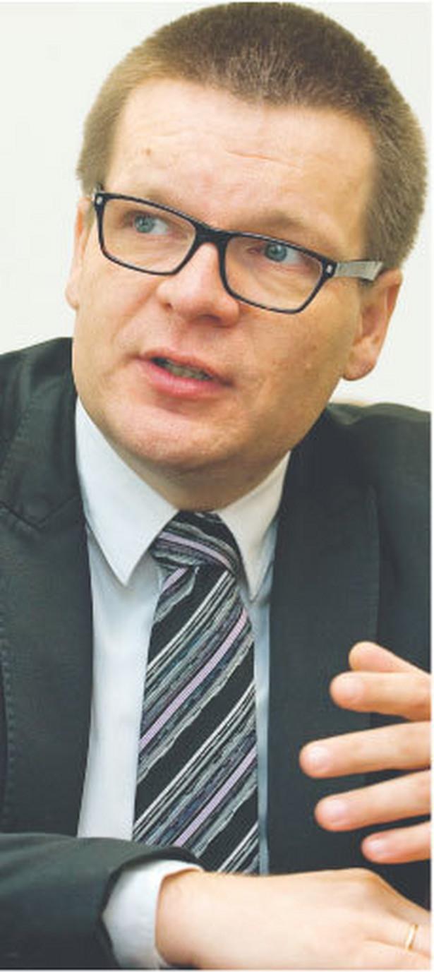 Dariusz Śpiewak, wiceprezes ZUS ds. informatyki. Wcześniej prezes zarządu spółki Post-Tel z grupy Poczty Polskiej FOT. WOJCIECH GÓRSKI
