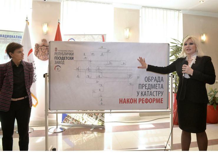 Ana Brnabić, Zorana Mihajlović