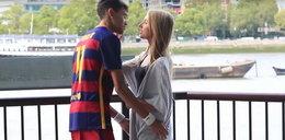 Podryw na Neymara, prawie każda dziewczyna powiedziała tak! WIDEO